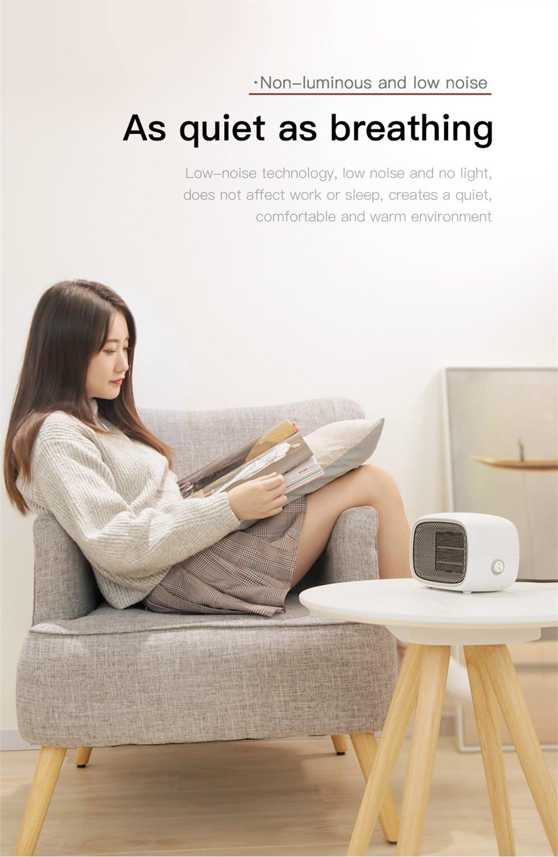 new baseus portable fan heater