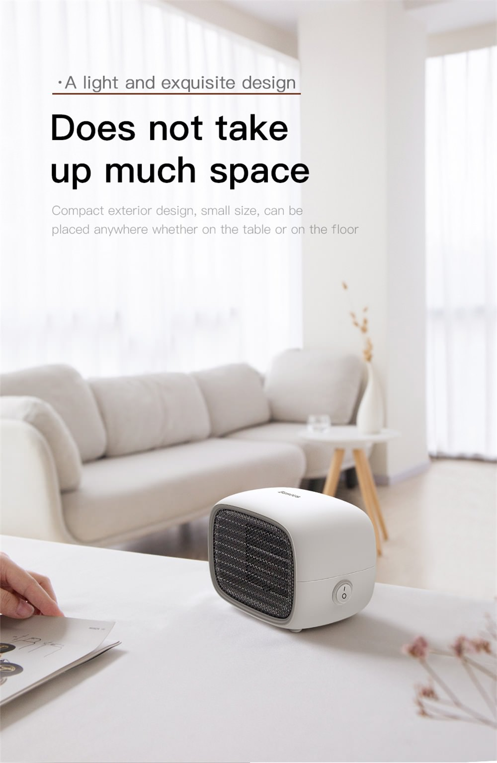 baseus electric air heater