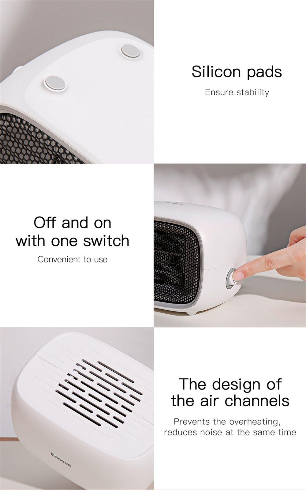 buy baseus electric air heater