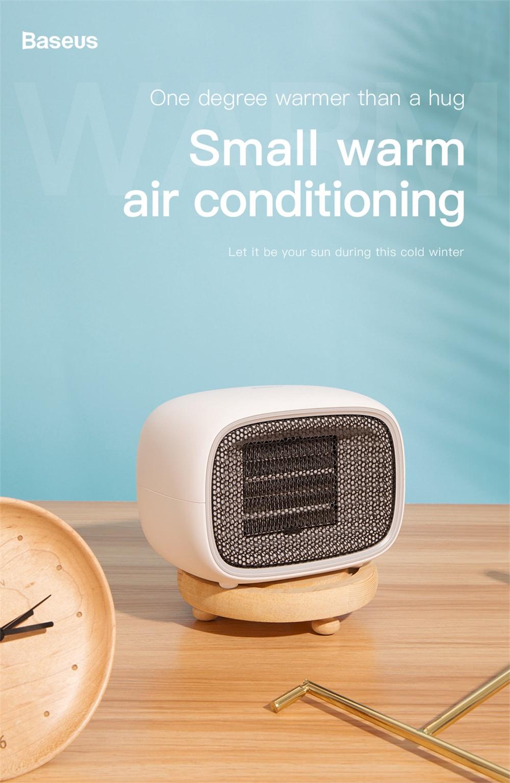 baseus electric fan heater price