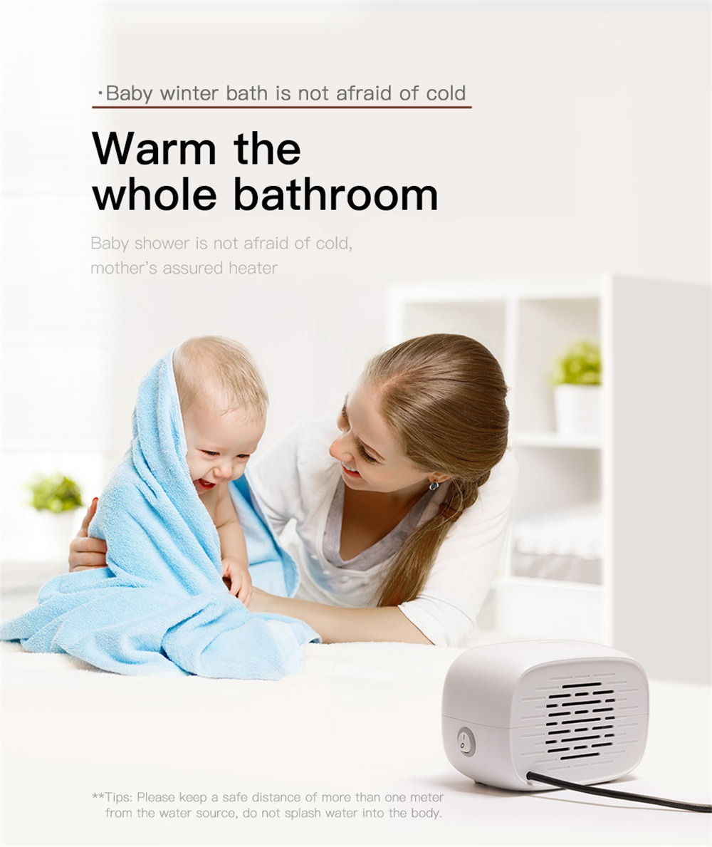 baseus electric mini fan heater sale