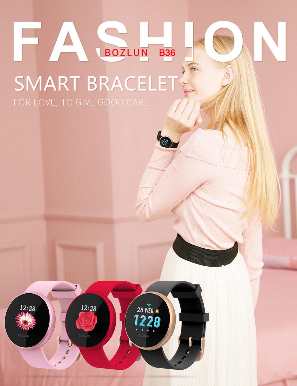 buy bozlun b36 lady bluetooth smartwatch