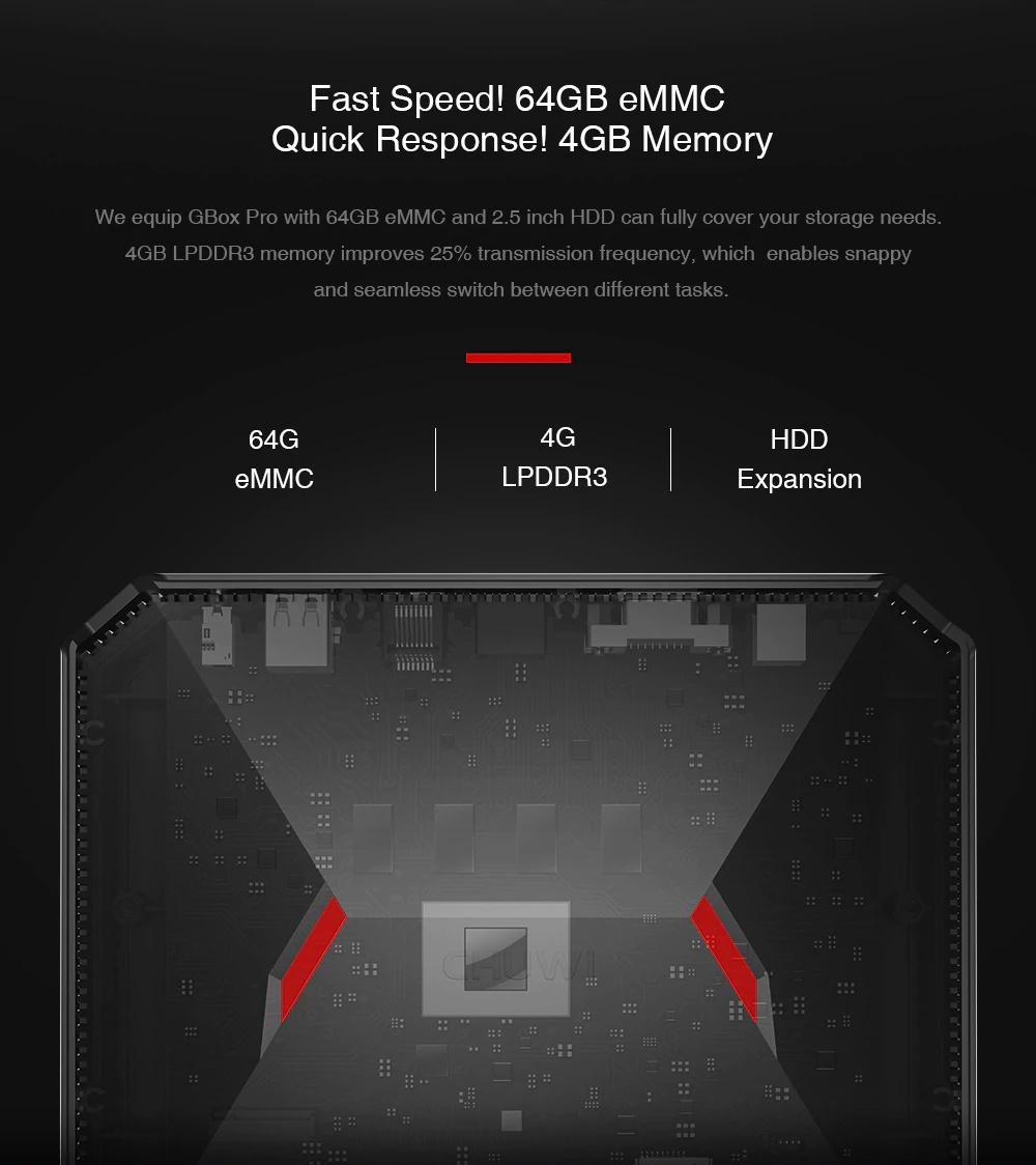 chuwi gbox pro mini pc 4gb 64gb for sale