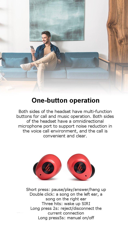 edifier w2 wireless earphones price