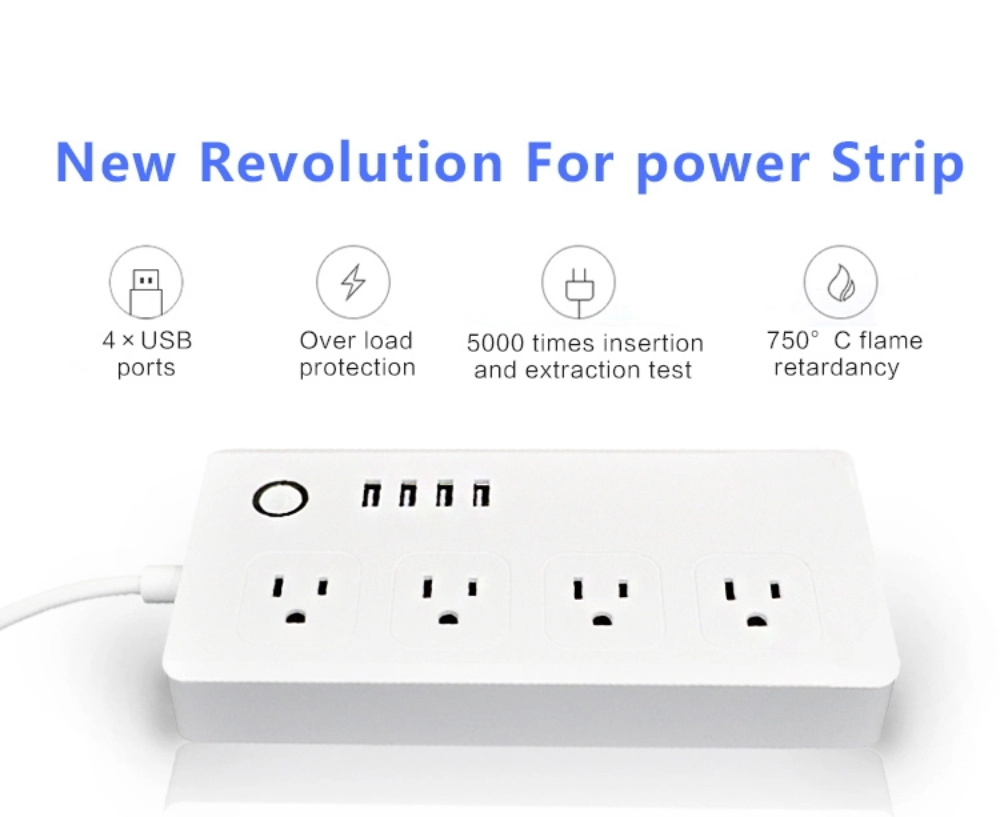 febite smart multi plug power strip