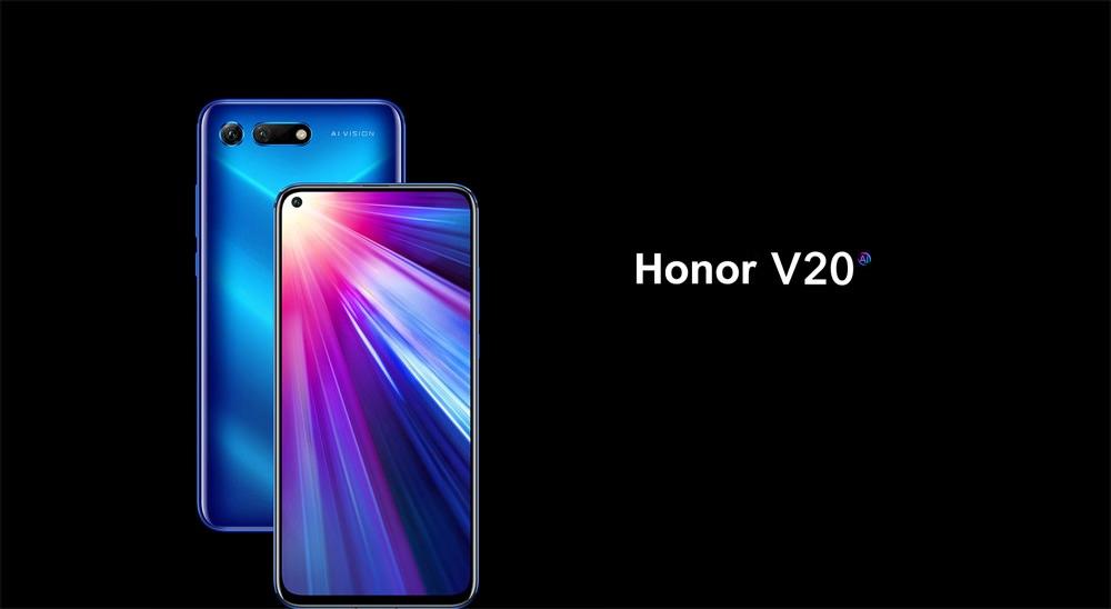 huawei honor v20 4g smartphone