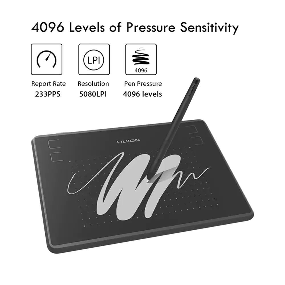 huion h430p digital pen tablet