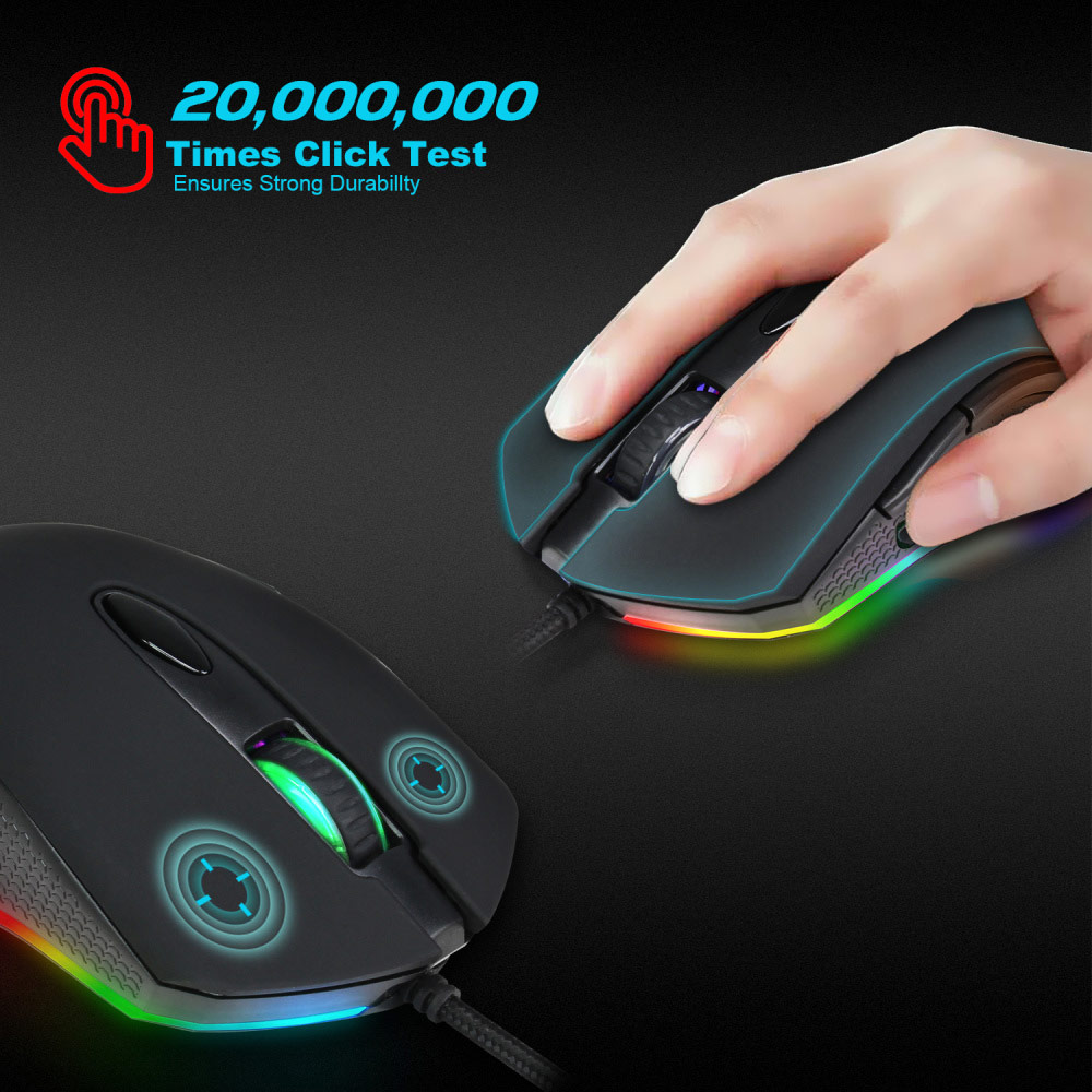 hxsj s500 gaming mouse