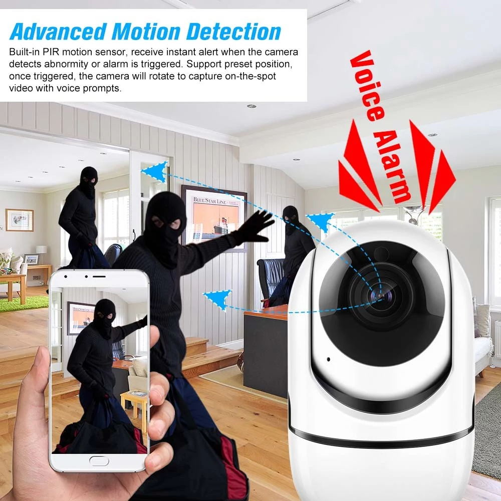 home security wireless ip camera
