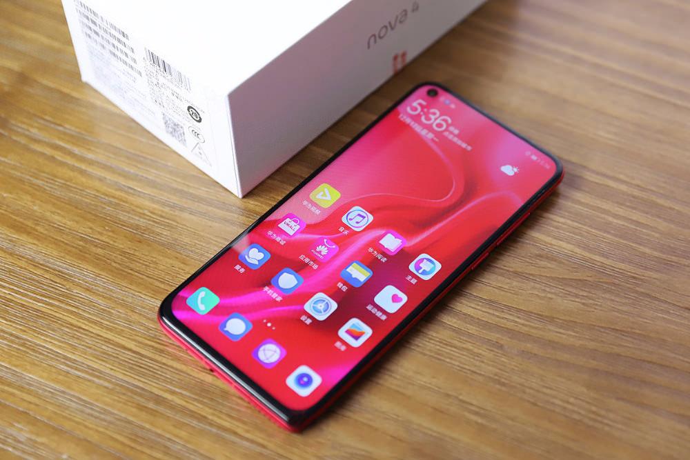 cheap huawei nova 4 smartphone