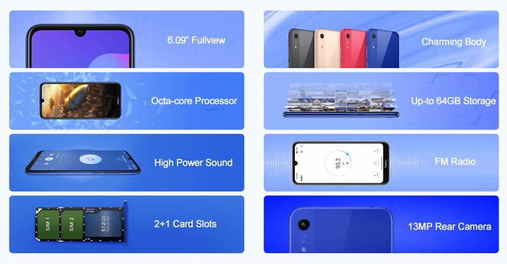 buy huawei honor 8a smartphone 64gb