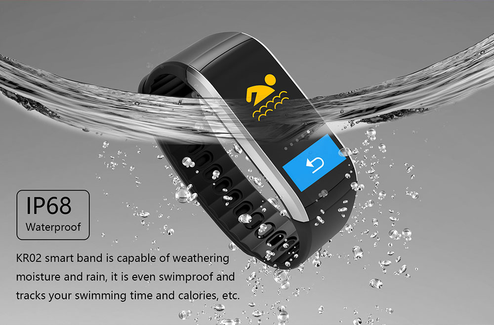 buy kingwear kr02 smart bracelet