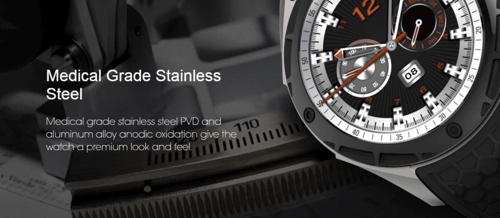 buy kingwear kw68 3g smartwatch phone