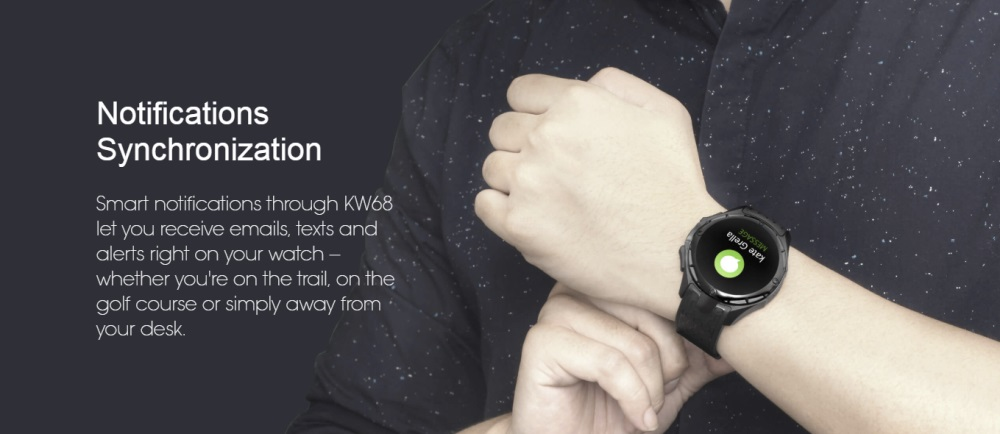 kingwear kw68 smartwatch phone online