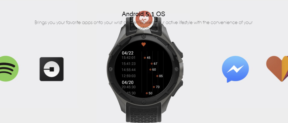 kingwear kw68 smartwatch price