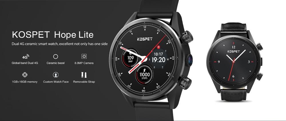 kospet hope lite 4g smartwatch