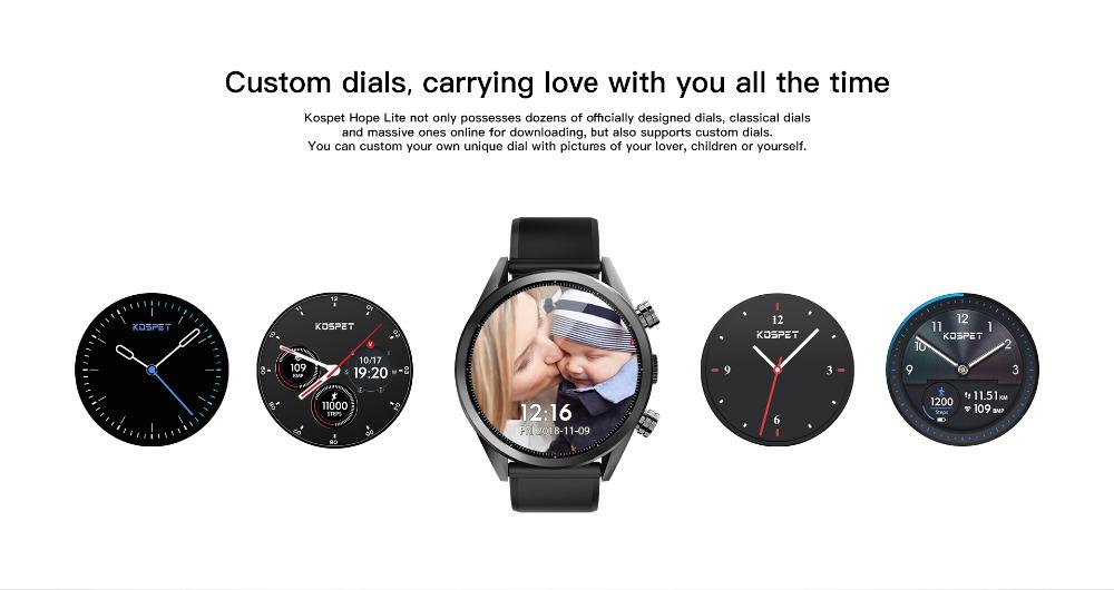 buy kospet hope lite bluetooth smartwatch
