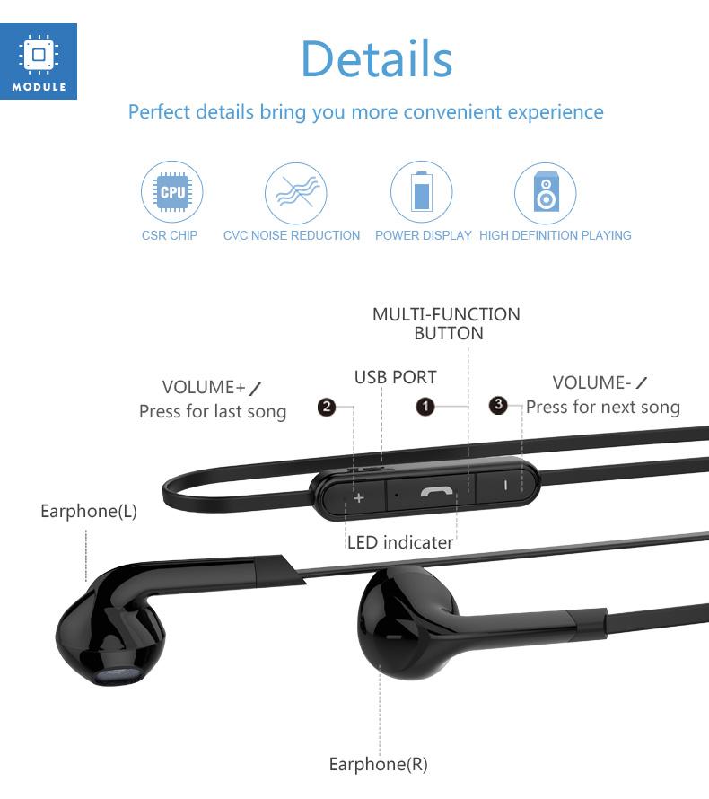 langsdom bl6 wireless bluetooth earphones