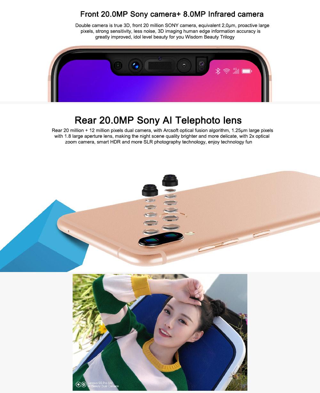 buy lenovo s5 pro 4g smartphone