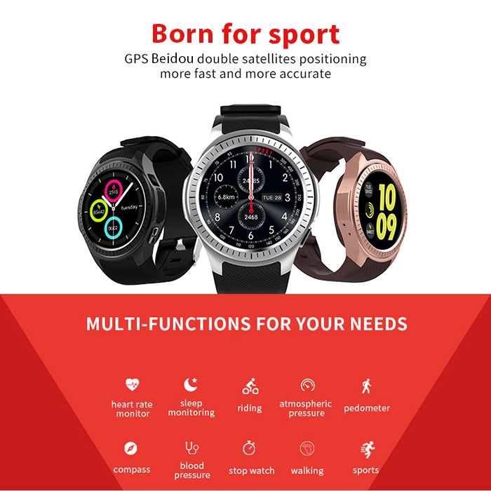 microwear l1 2g smartwatch phone