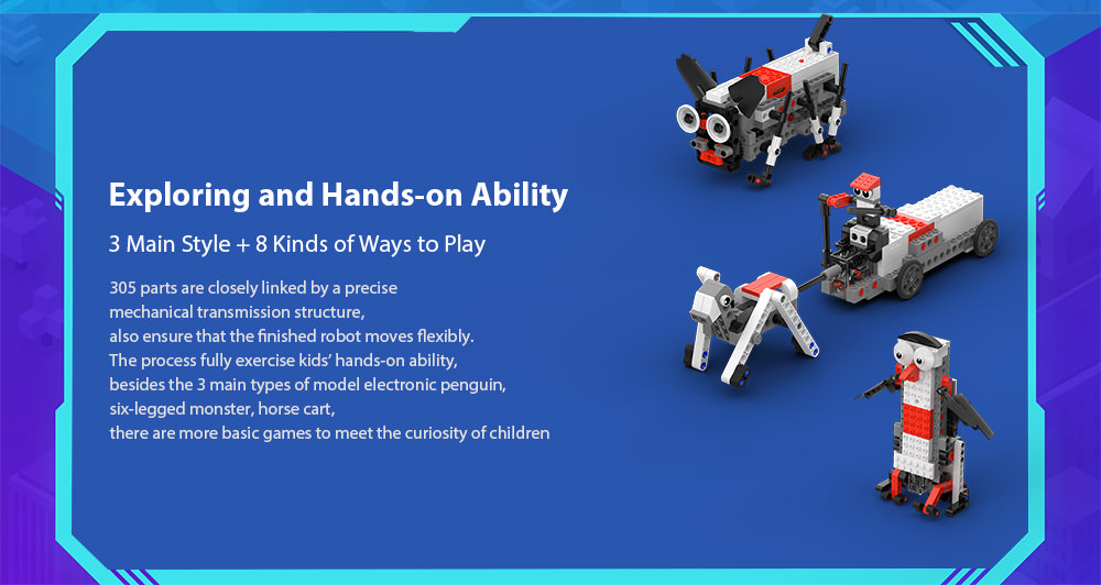 mitu smart building block robot