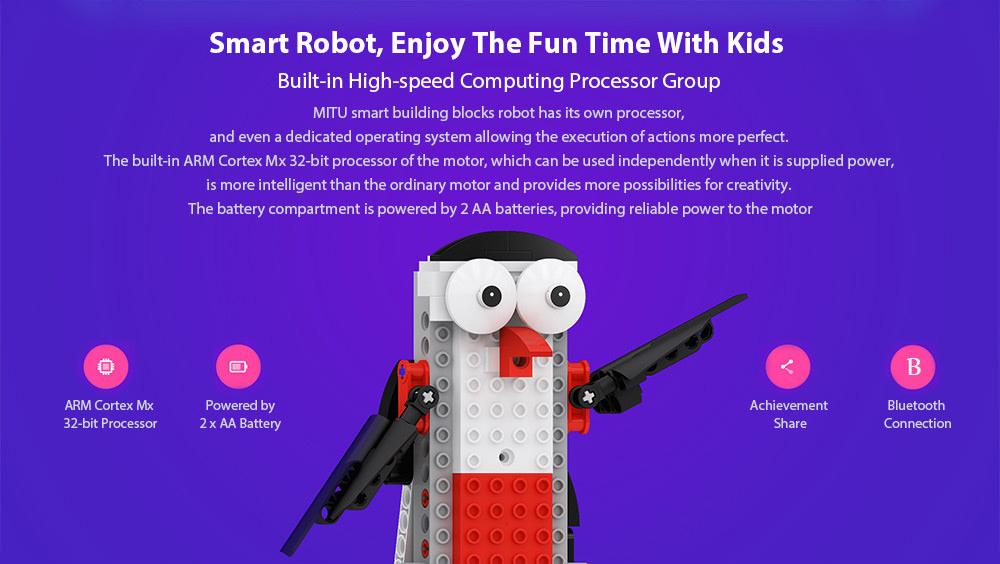 mitu smart building block robot price
