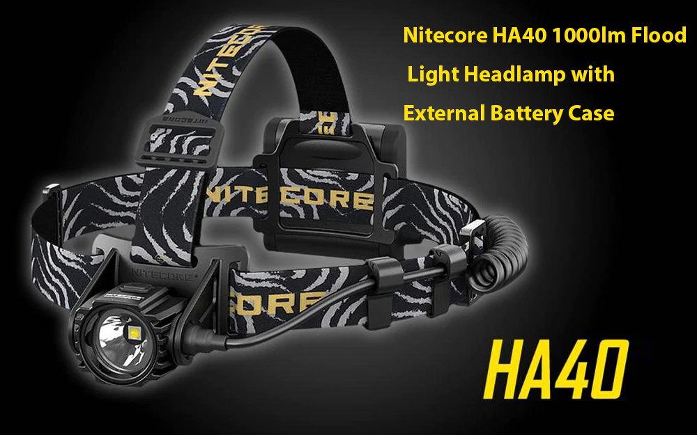 nitecore ha40 led headlamp