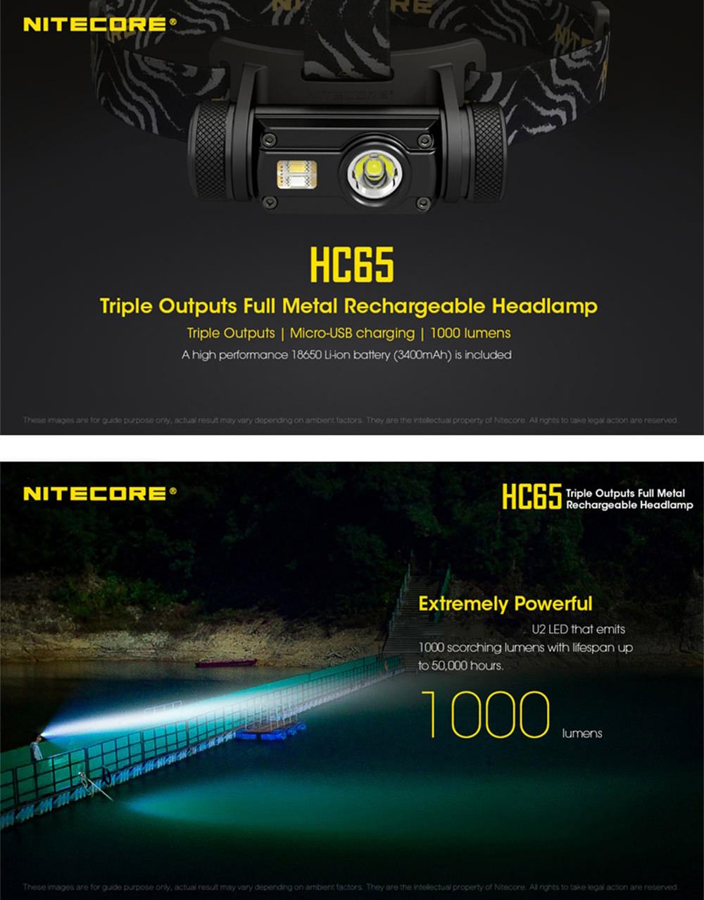 nitecore hc65 headlamp