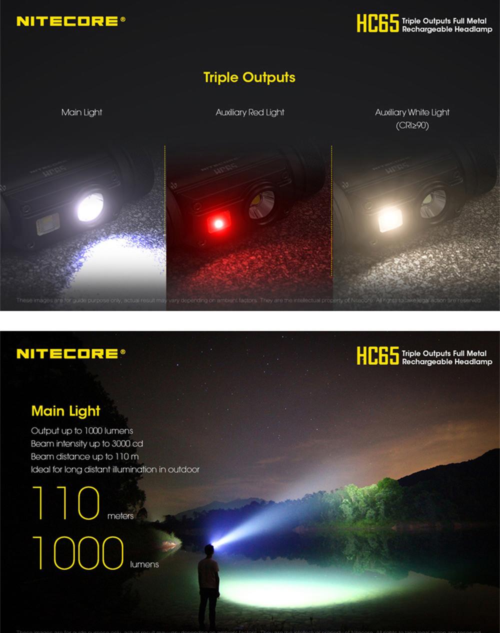 buy nitecore hc65 u2 led headlamp