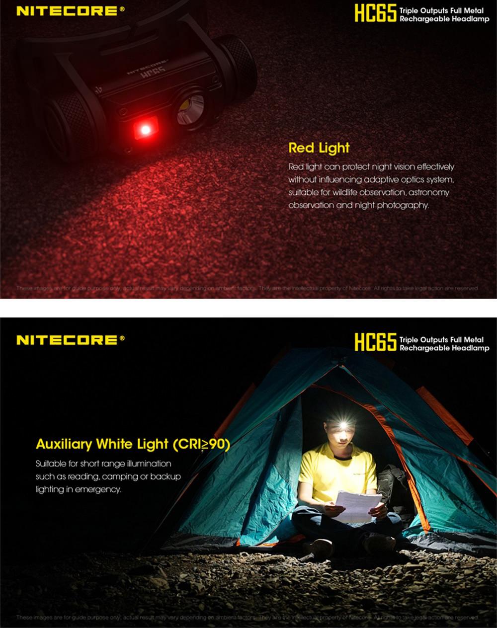 nitecore hc65 led headlamp