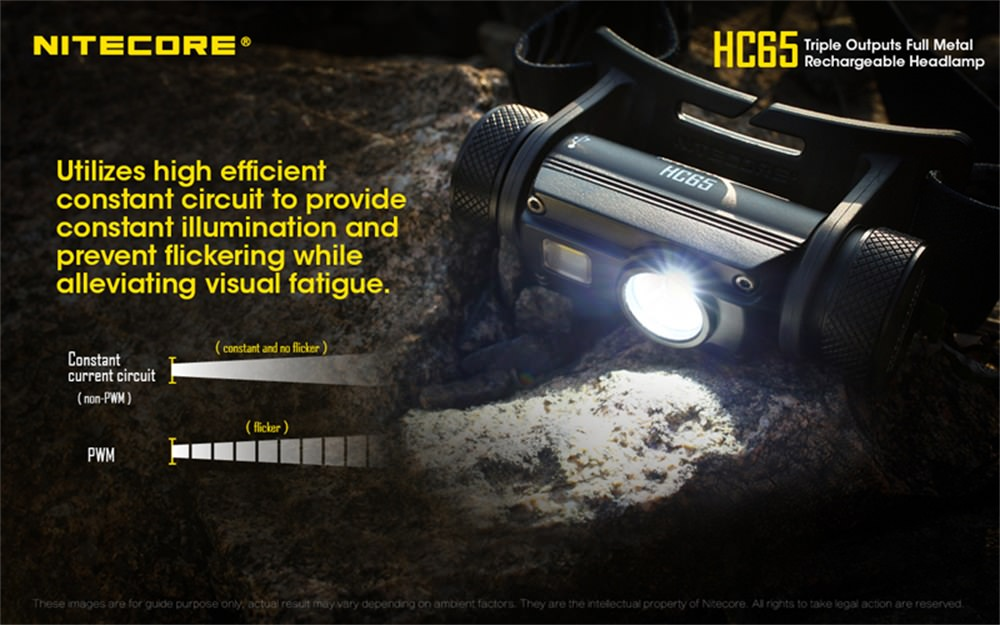 nitecore hc65 headlamp price