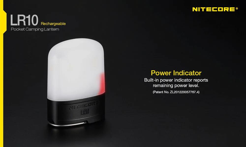 nitecore lr10 camping lantern