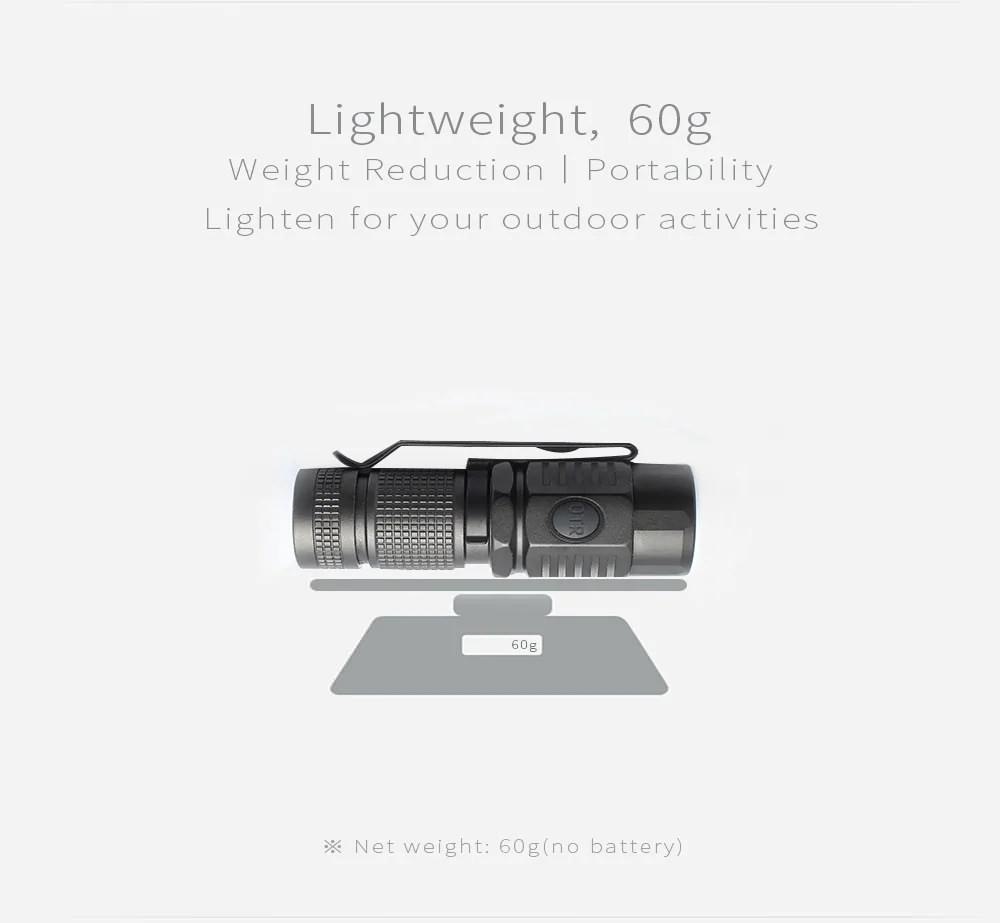 on the road u16 u3-1a led flashlight