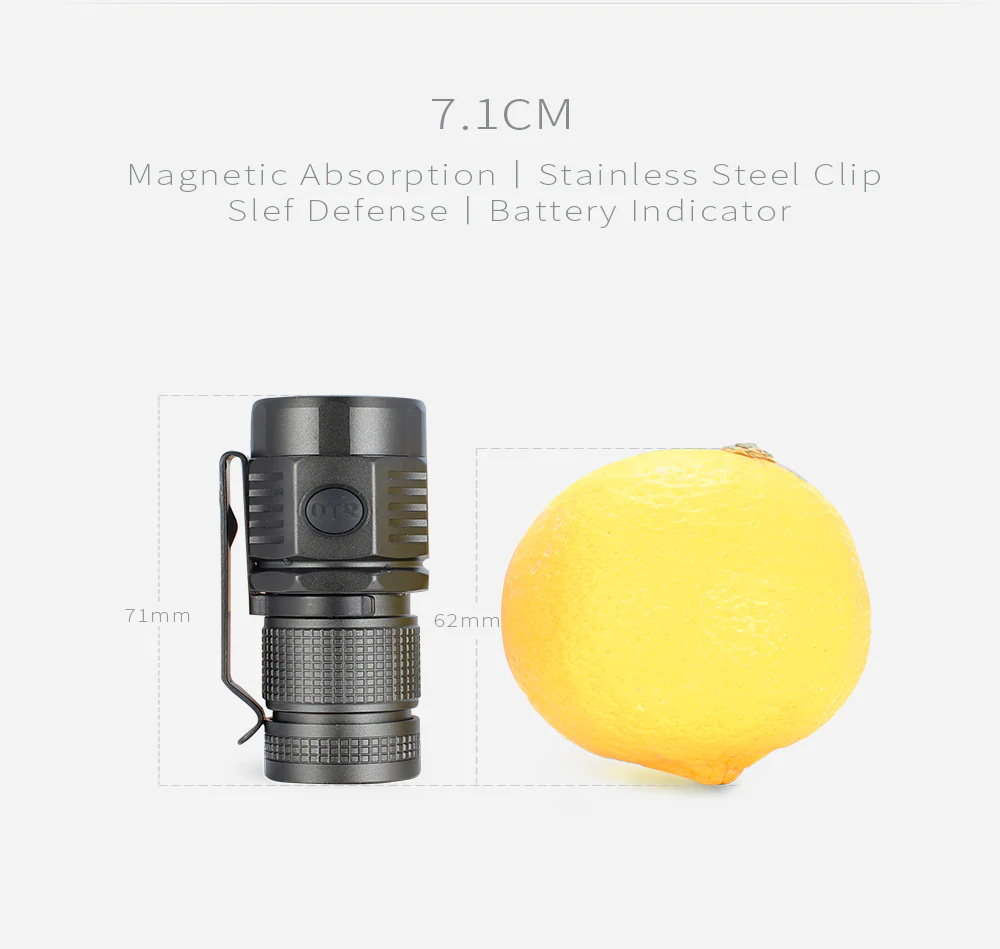 buy on the road u16 u3-1a led flashlight