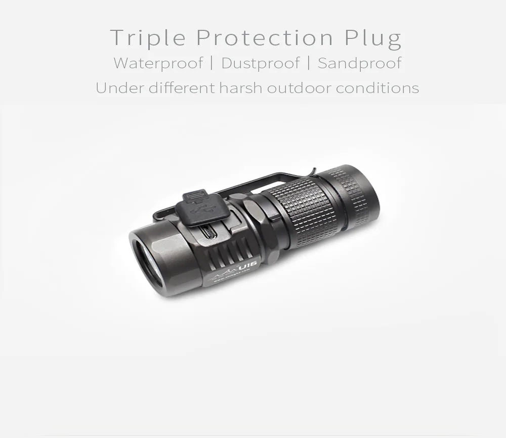 2019 on the road u16 u3-1a mini flashlight