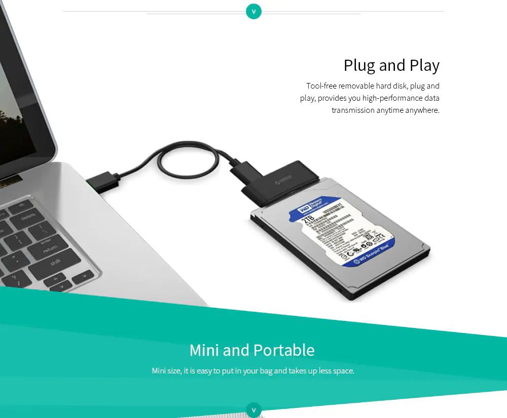 orico 20uts-bk hard drive adapter online