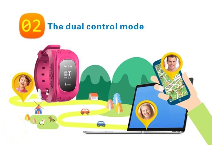 new q50 kids gps smartwatch