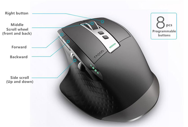 buy rapoo mt750s bluetooth mouse