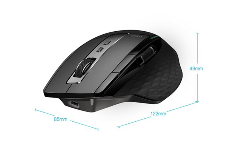 rapoo mt750s bluetooth mouse price