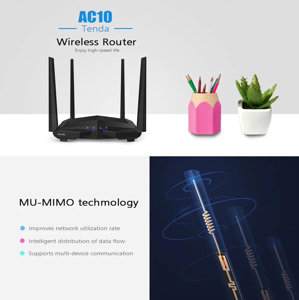 tenda ac10 wireless router