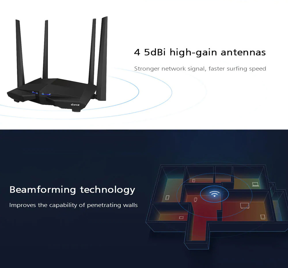 buy tenda ac10 wireless router
