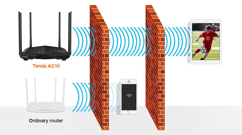 buy tenda ac10 router