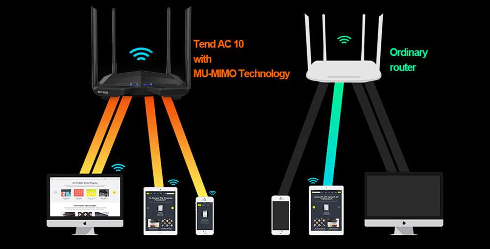 tenda ac10 wifi router