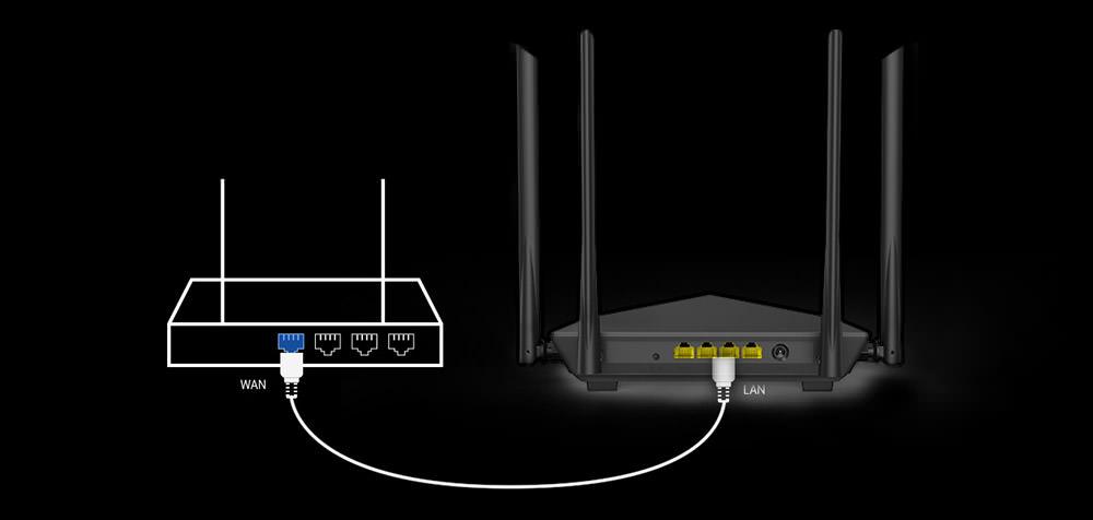 tenda ac10 wireless wifi router
