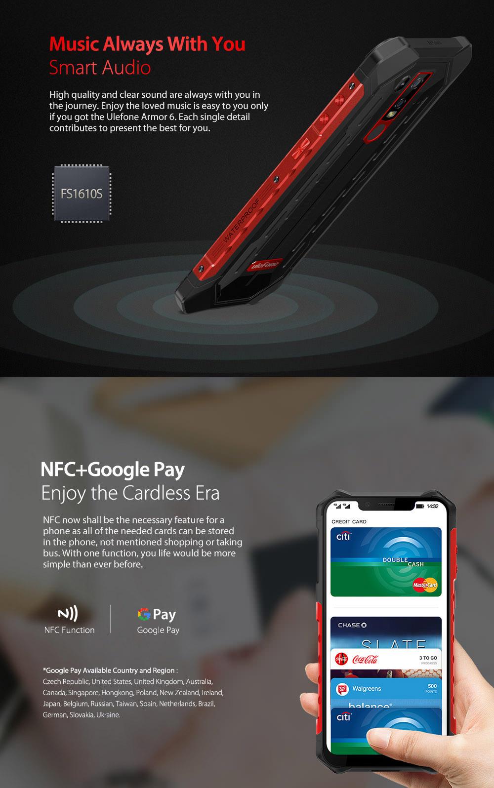 ulefone armor 6 4g smartphone online