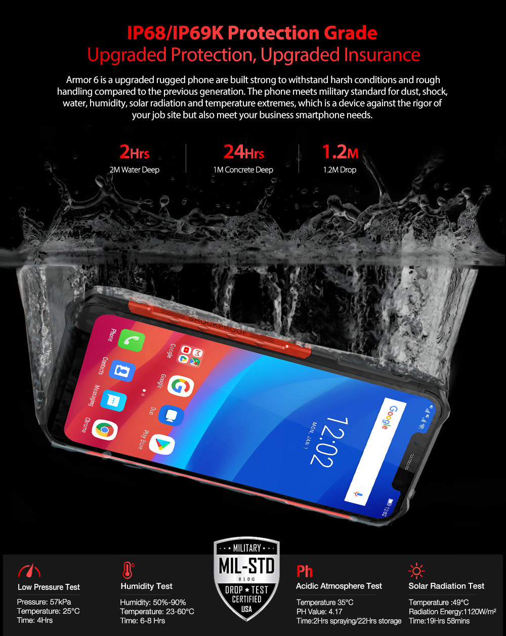 buy ulefone armor 6 4g smartphone