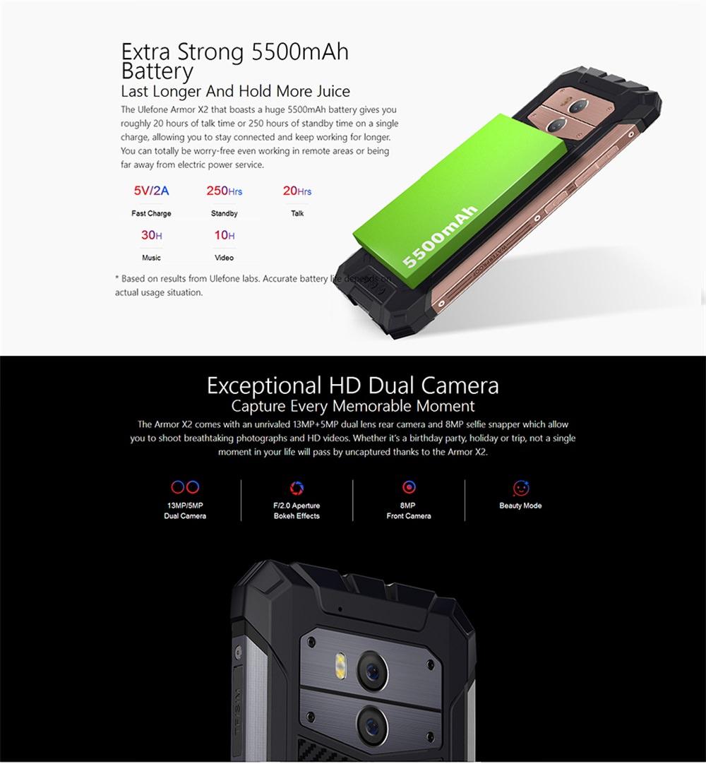 ulefone armor x2 smartphone