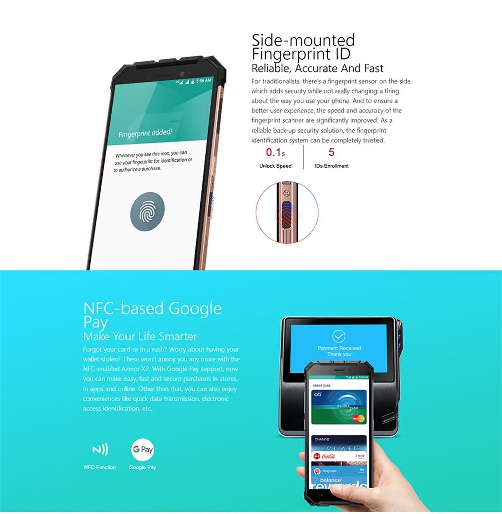 ulefone armor x2 smartphone online
