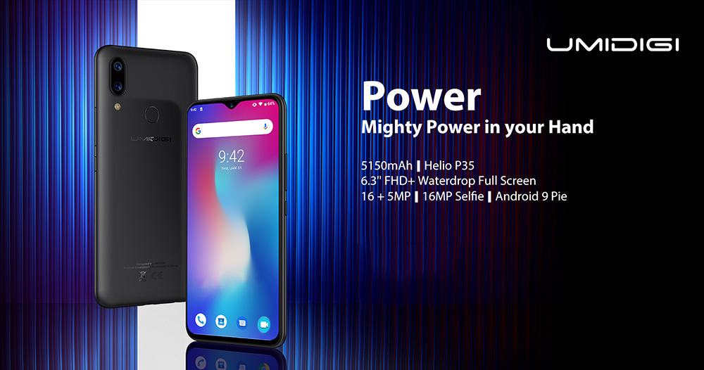 UMIDIGI POWER 4G Smartphone 4GB RAM 64GB ROM Global Version