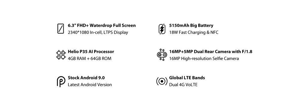 new umidigi power smartphone global version